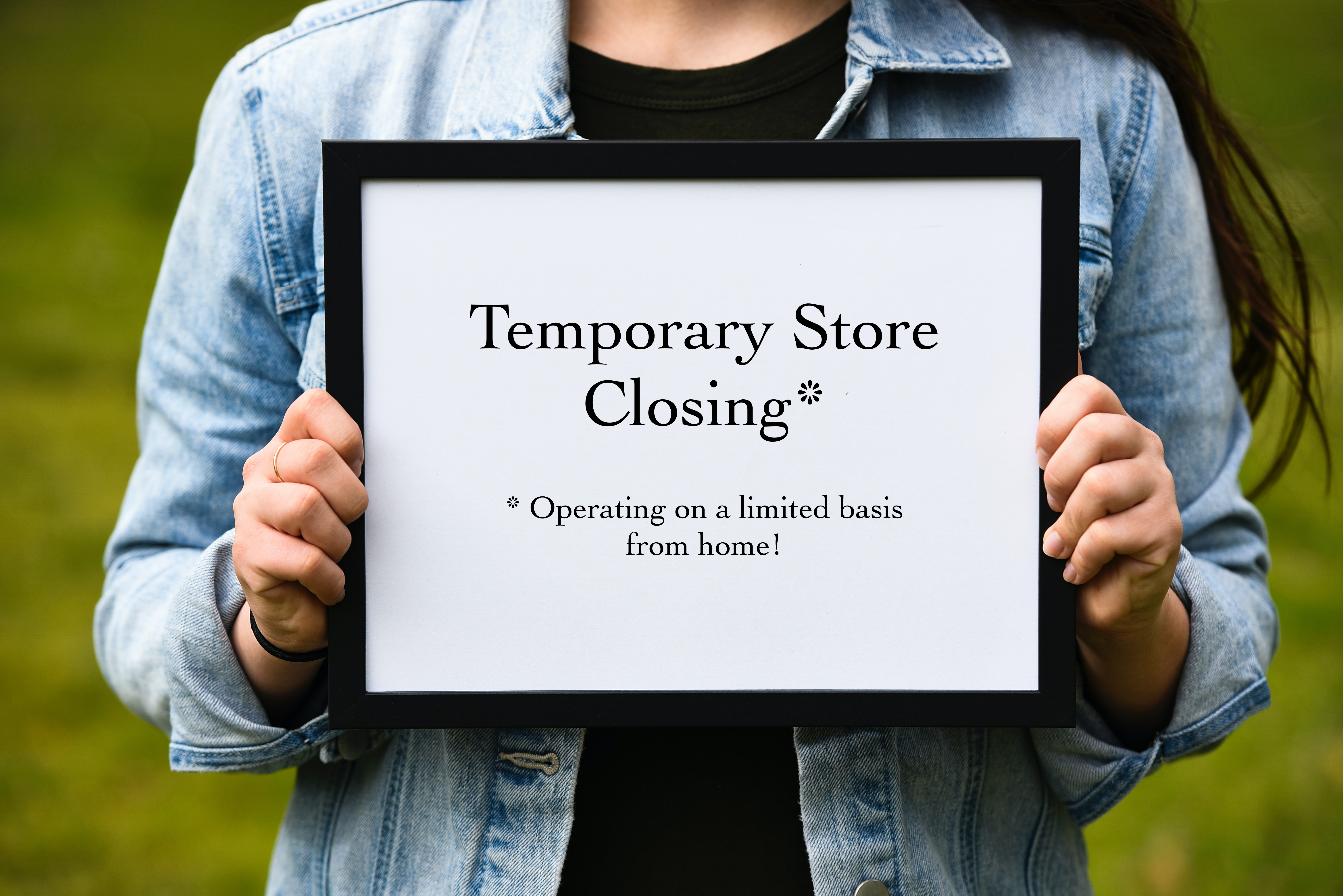 Temporary Store Closing 3.25.20