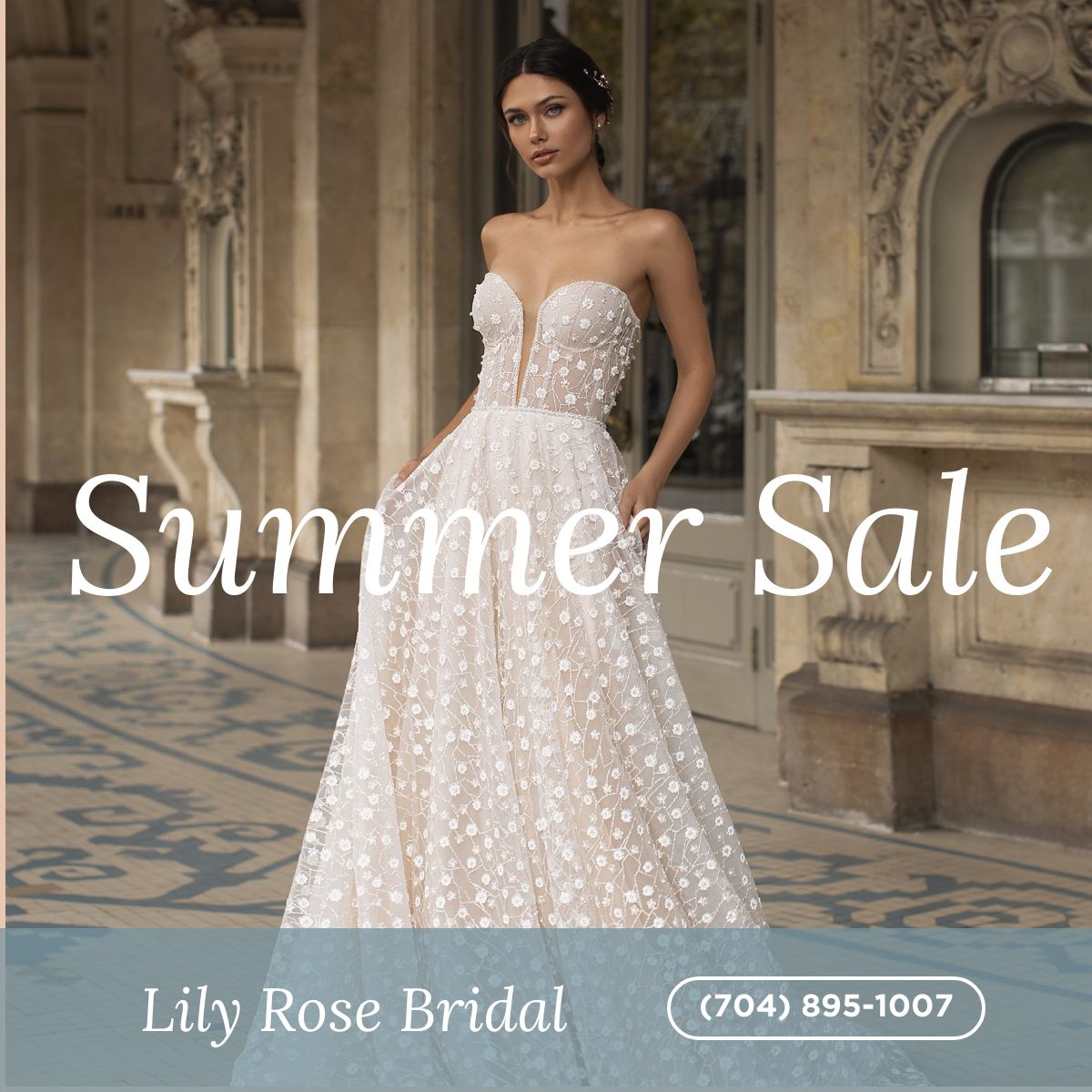 Lily Rose Bridal Summer Sale 2020