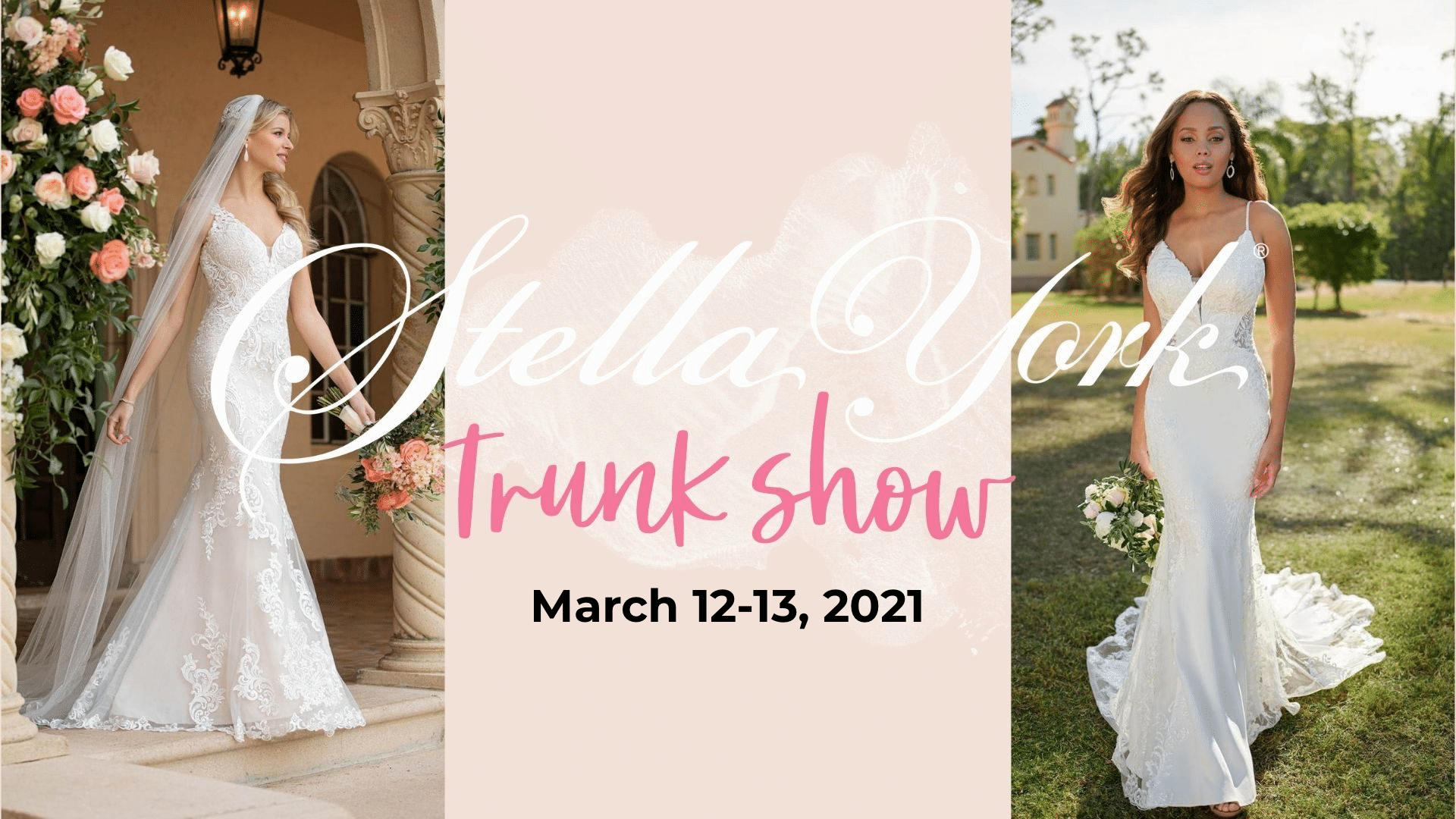 Stella York Trunk Show at Lily Rose Bridal March 12-13, 2021