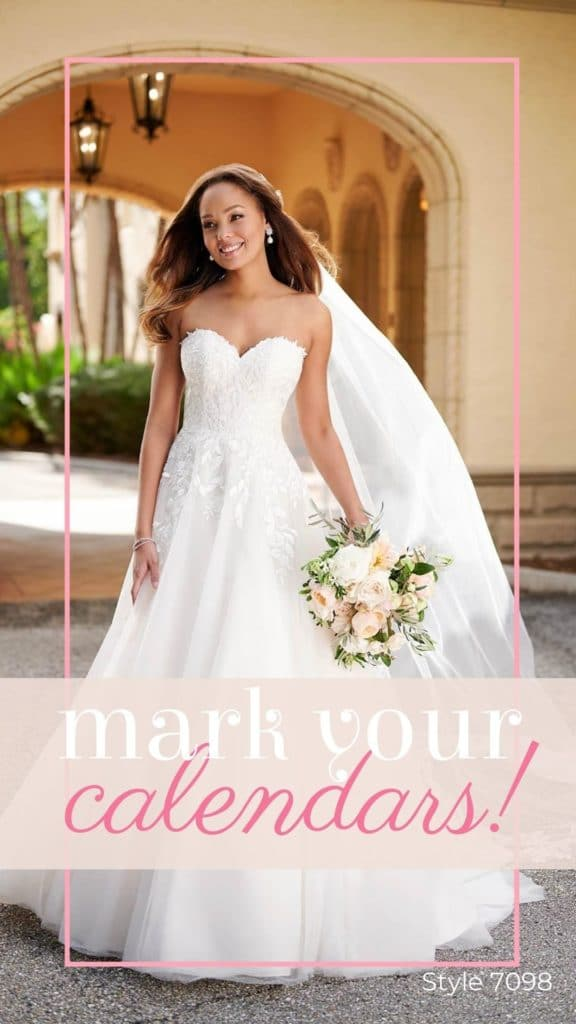 Stella York Trunk Show March 12-13 at Lily Rose Bridal in Cornelius NC