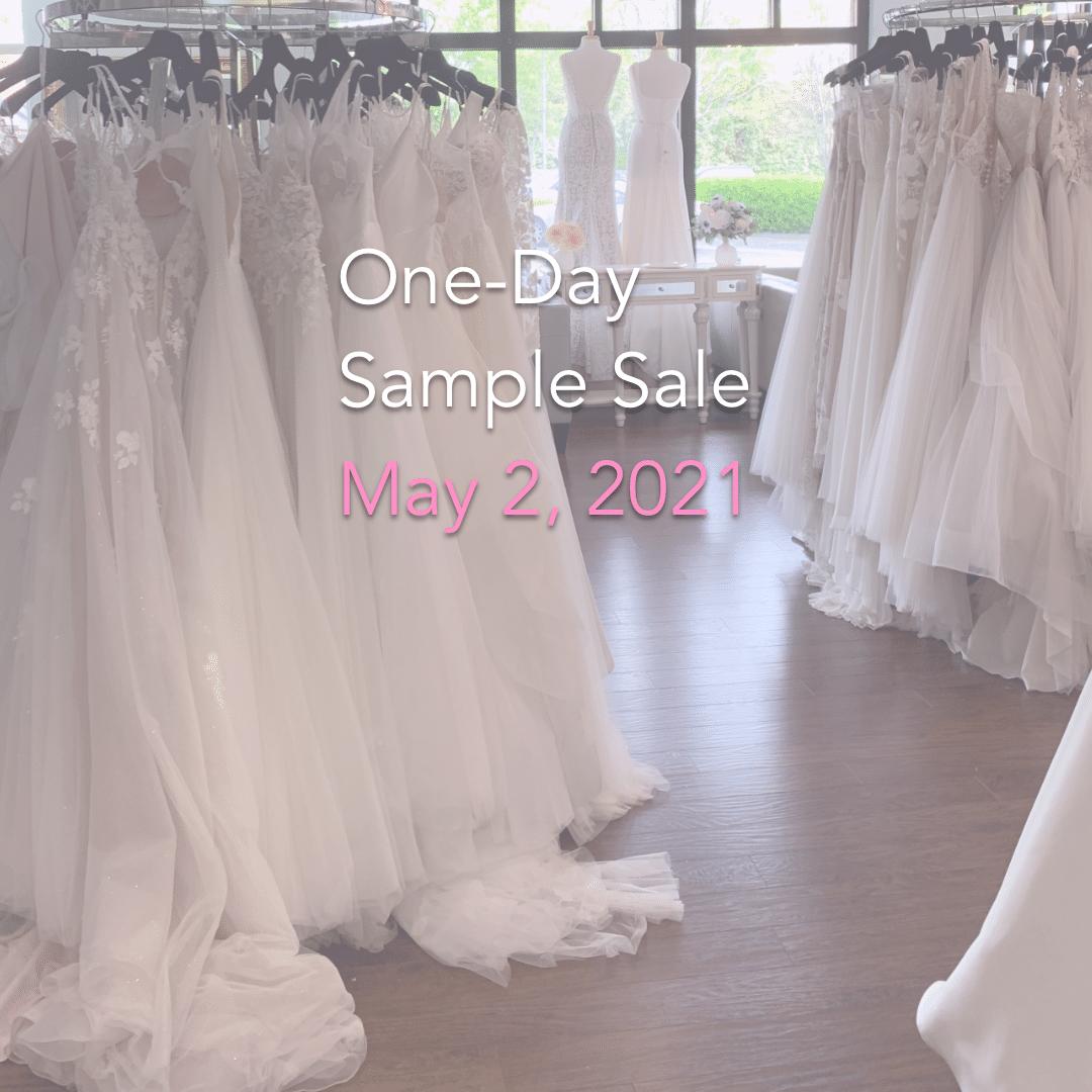 Lily Rose Bridal sample sale May 2, 2021